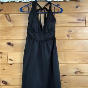 Target Dresses - Semi formal halter black dress